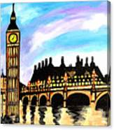 London After Eight Canvas Print