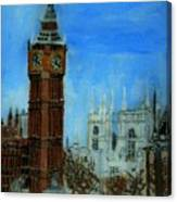 London Big Ben Clock  Canvas Print