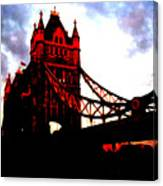 London Bridge No 3 Canvas Print