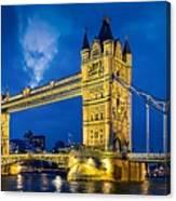 London Bridge Panorama Canvas Print