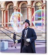 London Bubbles 4 Canvas Print