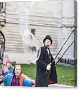 London Bubbles 6 Canvas Print