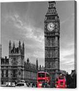London Buses Canvas Print