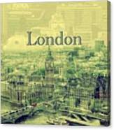 London Calling You Back Canvas Print