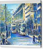 London City Oxford Street Canvas Print