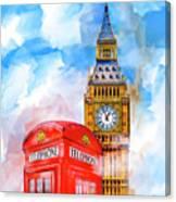 London Dreaming Canvas Print