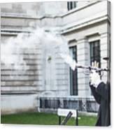 London Explosion 2 Canvas Print