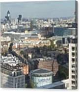 London Eye View- 2 Canvas Print