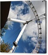 London Ferris Wheel Canvas Print