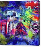 London Portrait  Canvas Print