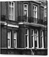 London Sixties Lambretta Canvas Print