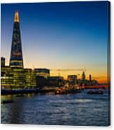 London South Bank 3 Canvas Print