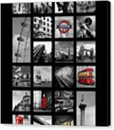 London Squares Canvas Print