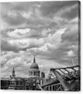 London - St. Pauls Cathedrale Canvas Print