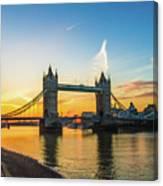 London Sunrise 2 Canvas Print