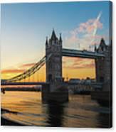 London Sunrise Canvas Print