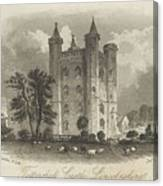 London Tattershall Castle, Lincolnshire. Published 1 Dec 1849 Canvas Print