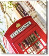 London Telephone 3 Canvas Print