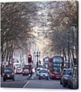 London Thoroughfare Canvas Print