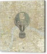 London Travels Canvas Print