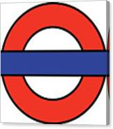 London Underground Blank Canvas Print