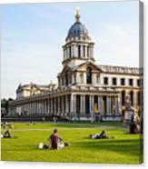 London University Greenwich Canvas Print