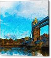 London Unveiled Canvas Print