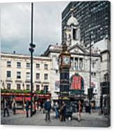 London - Victoria Station Canvas Print