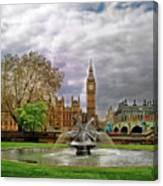 London's Big Ben  Canvas Print