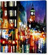 London's Lights Canvas Print