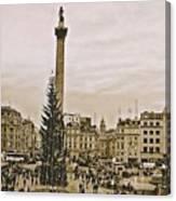 London's Trafalgar Square Canvas Print