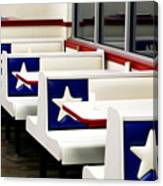 Lone Star Dairy Queen Canvas Print