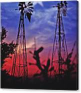 Lone Star Sunset Canvas Print