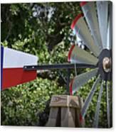 Lone Star Windmill Canvas Print