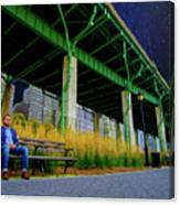 Loneliness In The City Canvas Print