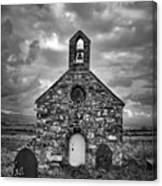 Lonely Chapel Canvas Print
