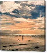 Lonely Couple  Canvas Print