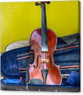 Lonely Fiddle Canvas Print