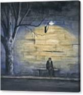 Lonely In Paris Canvas Print
