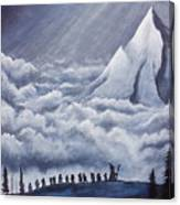 Lonely Mountain Canvas Print