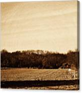 Lonely Old Barn Canvas Print