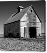 Lonely Old Barn Vertical Canvas Print