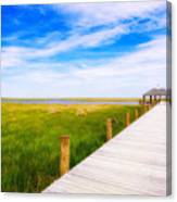 Lonely Pier II Canvas Print