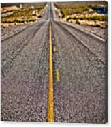 Lonely Road #2 Canvas Print