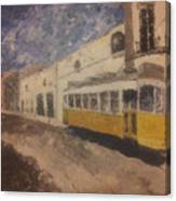 Lonelytram Canvas Print