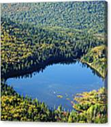 Lonesome Lake - White Mountains New Hampshire Usa Canvas Print