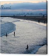 Long Beach Ca Canvas Print