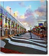 Long Beach Convention Center Canvas Print