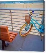 Long Beach Cruiser Canvas Print