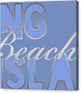 Long Beach Island Canvas Print